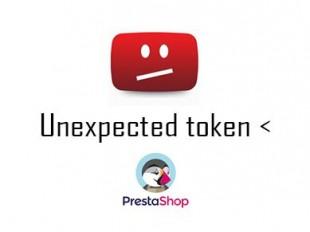 erreur-prestashop-Unexpected token